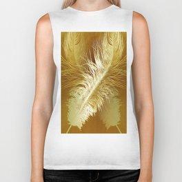 Golden Ostrich Biker Tank