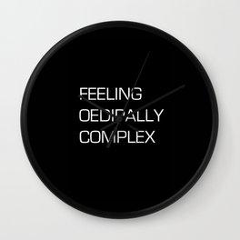 FREUDIAN FEELZ Wall Clock