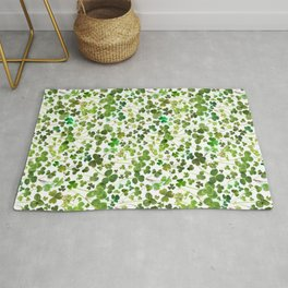 Shamrock and Clover Field Rug