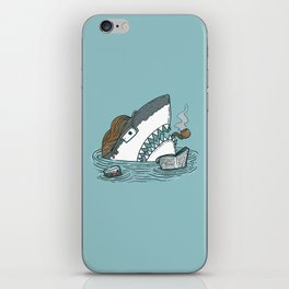 The Dad Shark iPhone Skin