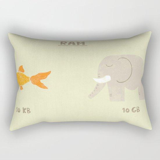 Raminals Rectangular Pillow