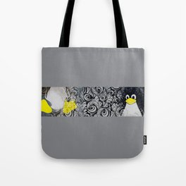 Penguin Linux Tux art graphic  Tote Bag