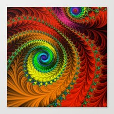 Fabulous Fractals - The Queen's Dress Canvas Print