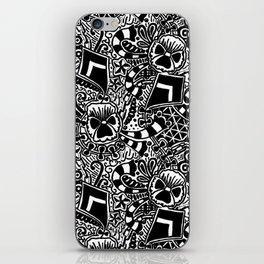 Theta Print iPhone Skin