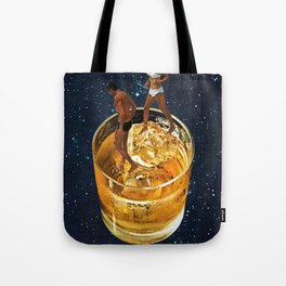 Space Date Tote Bag