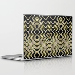Tribal Gold Glam Laptop & iPad Skin