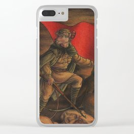 Soldier on Clear iPhone Case