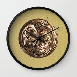 Deadwood Sphere Wall Clock