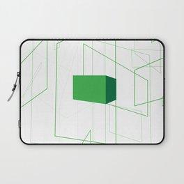 Blueprint #1 (green) Laptop Sleeve