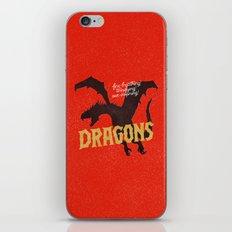 Dragons iPhone & iPod Skin