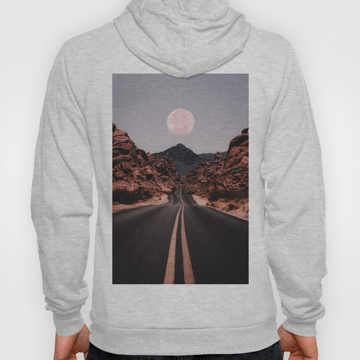 Road Red Moon Hoody