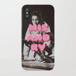 ♡ MISANDRY ♡ iPhone Case
