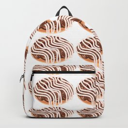 Chocolate Cream Donuts with Extra Vanilla Backpack