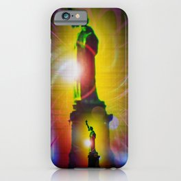 New York NYC - Statue of Liberty 14 2 iPhone Case