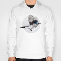 jay fleck Hoodies featuring Blue Jay by Condor