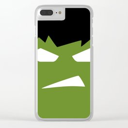 The Hulk Superhero Clear iPhone Case