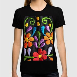 Mexican Flowers T-shirt