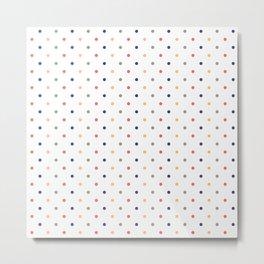 Just Dots // Darks Metal Print
