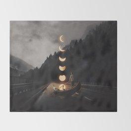 Moonlight Throw Blanket