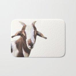 Goat Portrait Bath Mat
