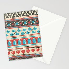 Fair-Hyle Knit Stationery Cards