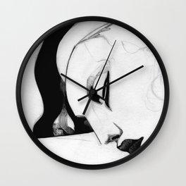 Sleeping Girl Wall Clock