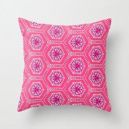 Marine coral Throw Pillow