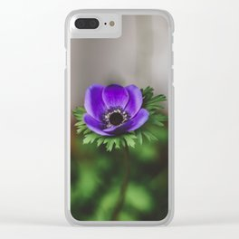 Anemone Clear iPhone Case