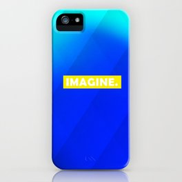 IMAGINE gradient no1 iPhone Case
