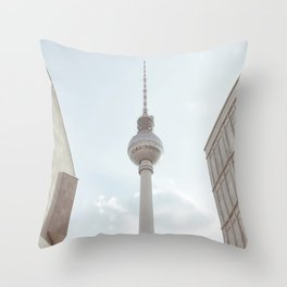 Berlin TV tower Throw Pillow
