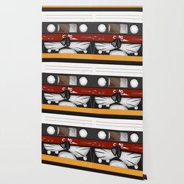 The cassette tape cat Wallpaper