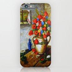 Hungarian Poppies Slim Case iPhone 6s