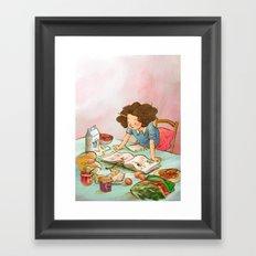 Foodie Framed Art Print