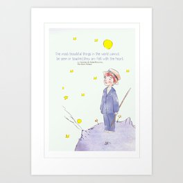 Little Prince Jinki Art Print