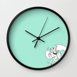 coming in late with the last minute shopping Wall Clock