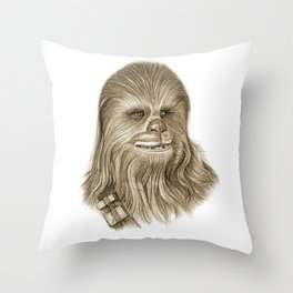 Wookiee Chewbacca Throw Pillow