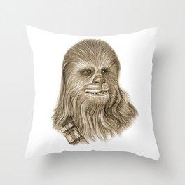 Wookiee Chewbacca Throw Pillow