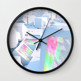 Cluttered Wall Clock