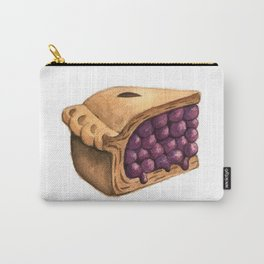 Blueberry Pie Slice Carry-All Pouch