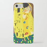klimt iPhone & iPod Cases featuring klimt by John Sailor