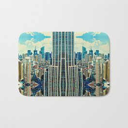 NYC in patterns Bath Mat