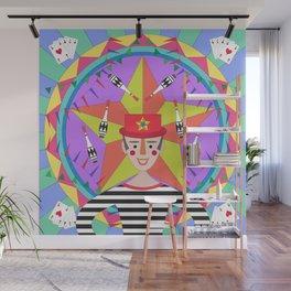 Circus Juggler Wall Mural