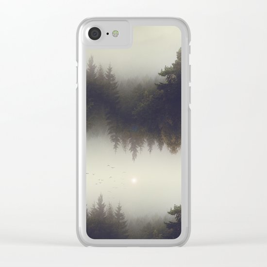Forest dreams Clear iPhone Case