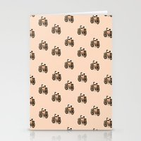 bikes Stationery Cards featuring Bikes by andy_panda_