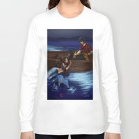 zuko Long Sleeve T-shirts featuring Enchanted by NiiArt