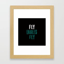 Fly Eagles Fly Framed Art Print