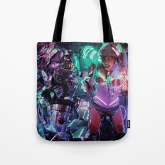 Robot Girl 2 Tote Bag