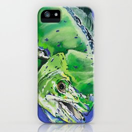 mahi iPhone Case