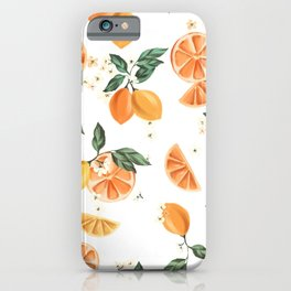 Lemon Crush MB002 iPhone Case