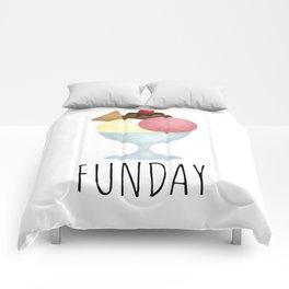 Sundae Funday Comforters